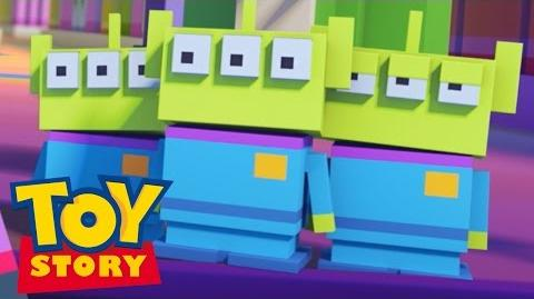 Disney Crossy Road The Animated Series Toy Story