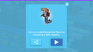 Saxophone Player Unlock