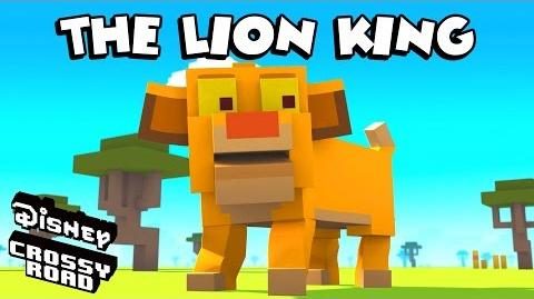 Disney Crossy Road The Animated Series Scar and Lion King Friends