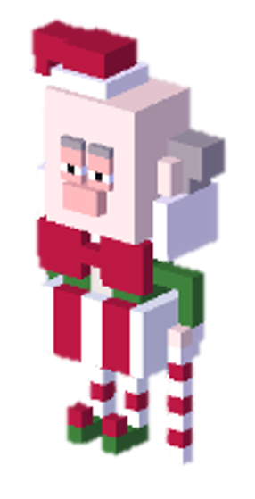 Disney Crossy Road Christmas Update.Christmas Grouch King Candy Disney Crossy Road Wikia