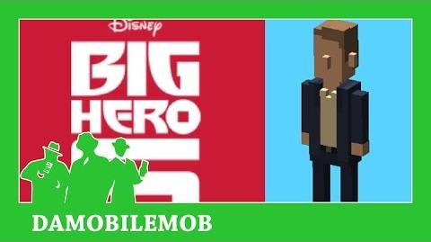 ★ DISNEY CROSSY ROAD Secret Characters - ALISTAIR KREI UNLOCK (BIG HERO SIX) (iOS, Android Gameplay)