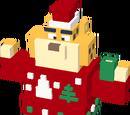 Clawhauser de Noël