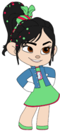 Vanellope in her Night Out Outfit 7