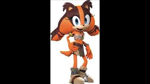 Sonic Boom Rise Of Lyric - Sticks The Badger Unused Voice Clips