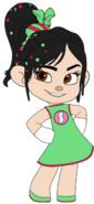 Vanellope in her Night Out Outfit 3