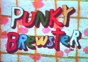 It's Punky Brewster Logo