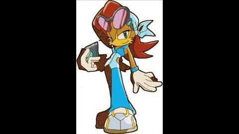 Sonic Riders - Princess Sally Acorn Voice Sounds