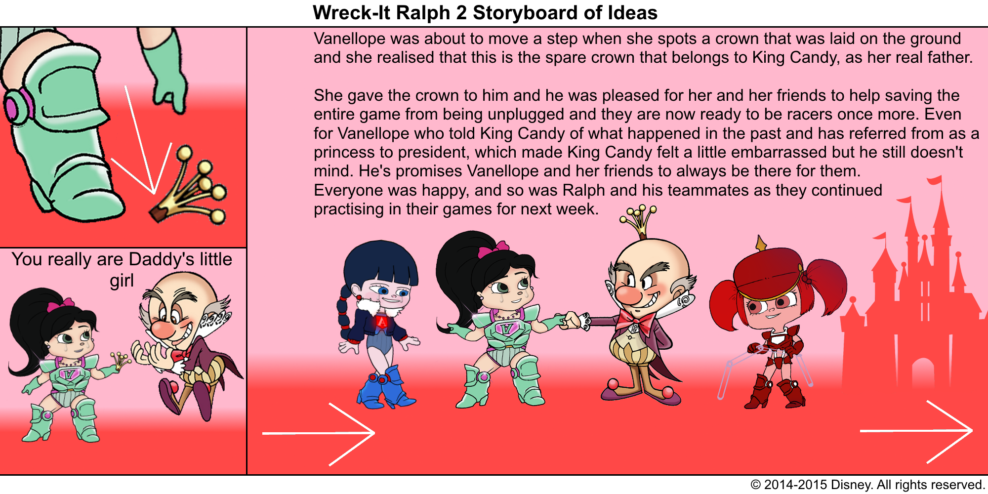 Best Lines From Wreck It Ralph 2: Wreck-It Ralph 2 Storyboard Of Ideas 49.png