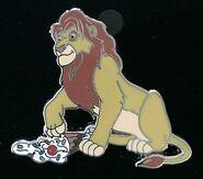 Disney-Pin-Dsf-Simba-Ptd-The-Lion-King