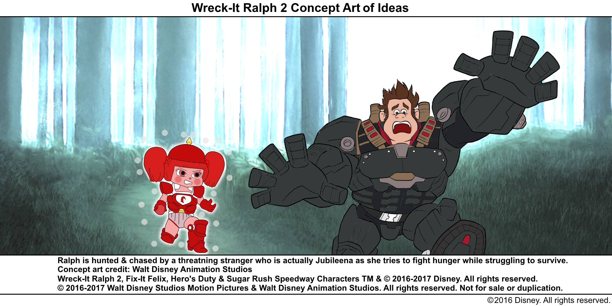 Best Lines From Wreck It Ralph 2: Wreck-It Ralph 2 Concept Art Of Ideas 7.png