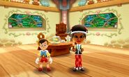 Pinocchio and Mii