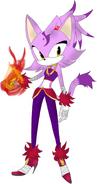 Sonic Boom Blaze