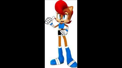 Sonic Boom Rise Of Lyric - Princess Sally Acorn Voice