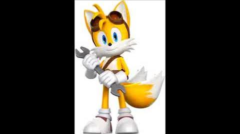 Sonic Boom Video Game - Miles ''Tails'' Prower Voice