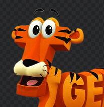 Word world tiger