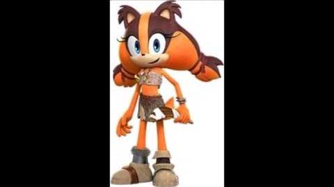 Sonic Boom Rise Of Lyric - Sticks The Badger Voice