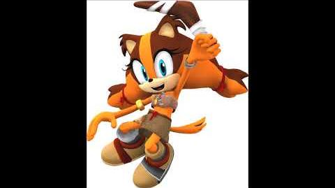 Sonic Boom Video Game - Sticks The Badger Unused Voice Clips