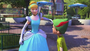 KDA - Cinderella loves to touch with him hands together