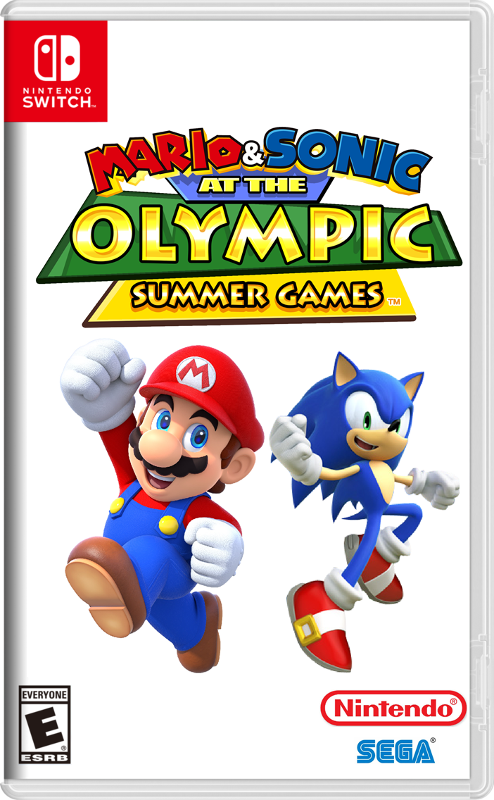 Mario & Sonic at the Olympic Summer Games   Disney Fanon