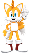 Sonic and friends tails the fox