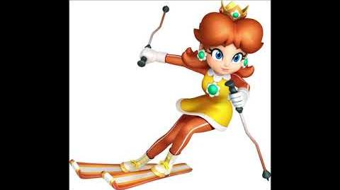 Mario & Sonic at the Olympic Winter Games 2 - Princess Daisy Voice Sound