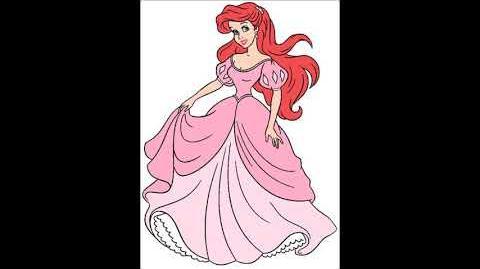 Jodi Benson as Ariel in Disney Share A Dream Come True Parade