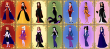Junior disney princesses as their villains by loldisney-dbi3hn6