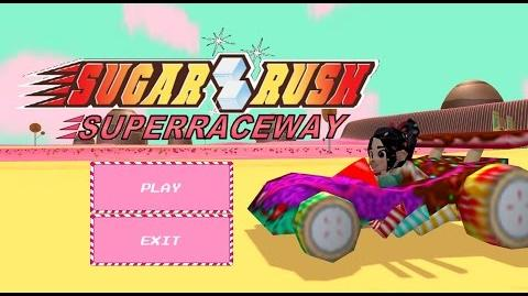 Sugar Rush Superraceway- Short Gameplay- Wreck-It Ralph PC games