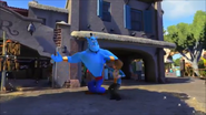 KDA - Genie likes to dances and he is famous good dancer