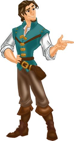 Flynn Rider transparent