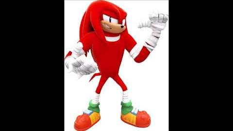Sonic Boom Shattered Crystal - Knuckles The Echidna Voice Sound