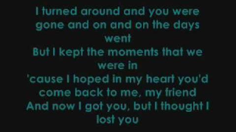 Miley Cyrus ft. John Travolta - I Thought I Lost You (With Lyrics)