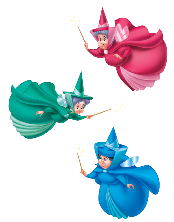 Flora, Fauna and Merryweather/Quotes and Lines | Disney ...