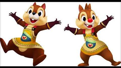 Kingdom Hearts - Chip and Dale Voice Clips