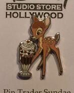 Disney-Pin-DSF-PTD-Trader-Delight-Sundae-Bambi