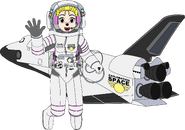 Heartfilia and the Exploration Space Ship