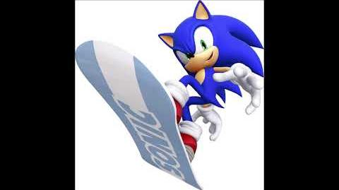 Mario & Sonic at the Olympic Winter Games 2 - Sonic The Hedgehog Voice Sound