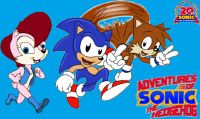 20 years of adventures by sonic