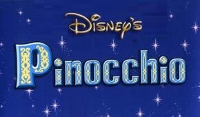Disney's Pinochio The Series