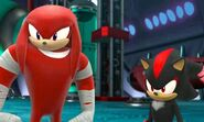 SBSC Knuckles and Shadow