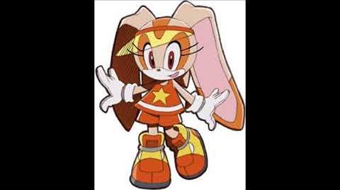 Sonic Riders - Cream The Rabbit Voice Sound