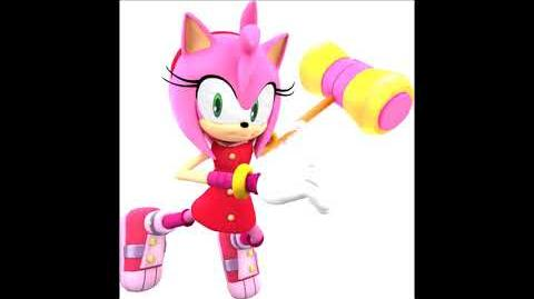 Sonic Boom Video Game - Amy Rose Unused Voice Clips