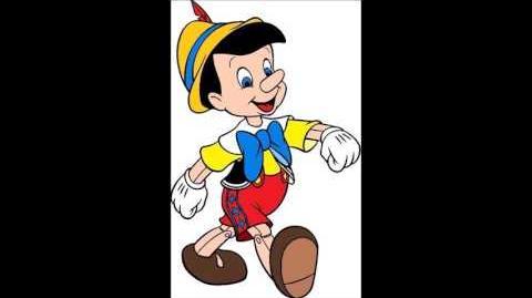 Dickie Jones as Pinocchio in Walt Disney's Pinocchio 1940