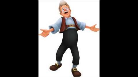 Kingdom Hearts - Geppetto Voice