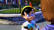 KDA - Pinocchio was very pretty smile at the good