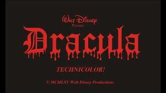 """Disney's """"Dracula"""" (1965) - Buena Vista Main Titles Prologue (Many Vampires Attacking)-1"""