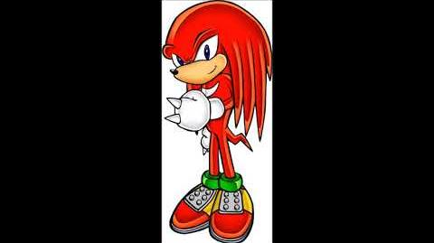 Sonic Party The Top 100 - Knuckles The Echidna Voice