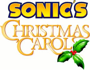 Sonics Christmas Carol Logo
