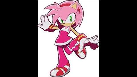 Sonic Riders - Amy Rose Voice Sound
