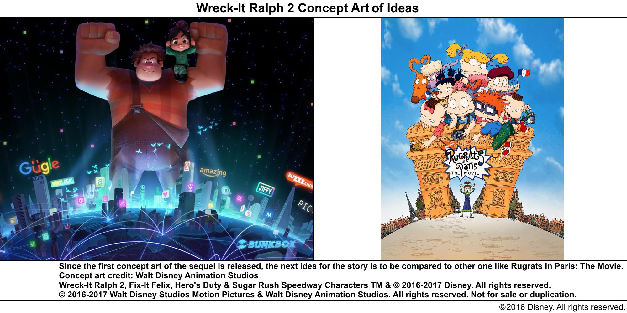 Best Lines From Wreck It Ralph 2: Wreck-It Ralph 2 Concept Art Of Ideas 41.png